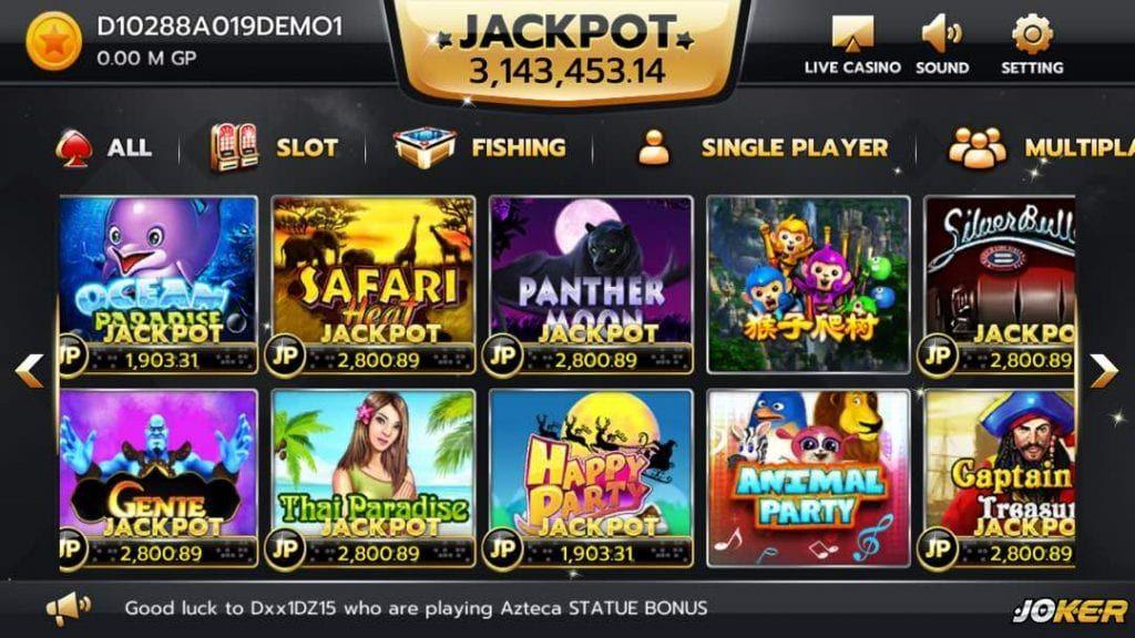 e slots casino